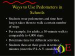 ways to use pedometers in schools4