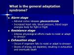 what is the general adaptation syndrome1