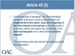 article 45 2