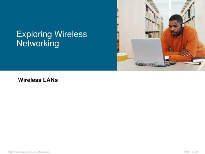 exploring wireless networking n.