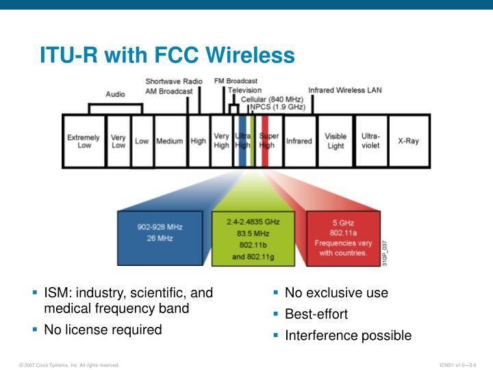 ITU-R with FCC Wireless