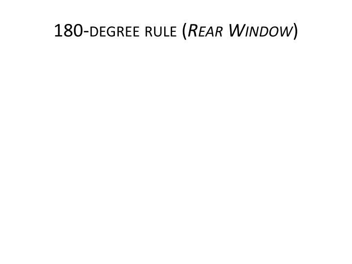 180-degree rule