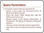 query parameters1