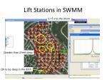 lift stations in swmm8
