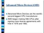 advanced micro devices amd
