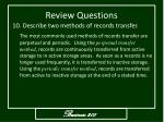 review questions11