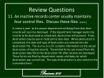 review questions13