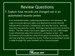 review questions8