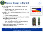 nuclear energy in the u s