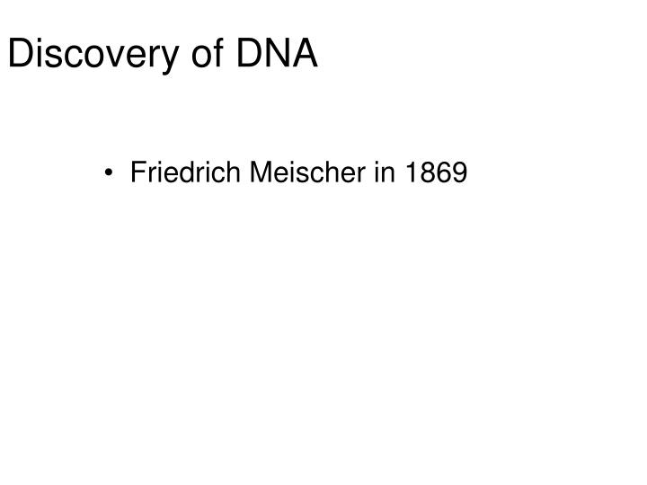 discovery of dna n.