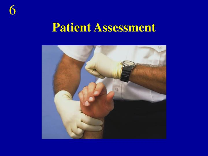 patient assessment n.
