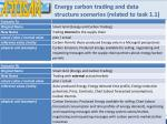 energy carbon trading and data structure scenarios related to task 1 1