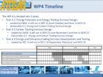 wp4 timeline
