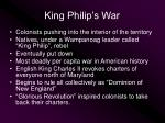 king philip s war