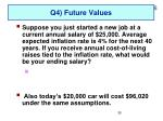 q4 future values