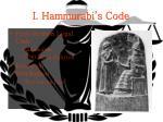 i hammurabi s code