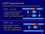 oaep improvements