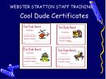 cool dude certificates