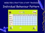 individual behaviour pattern