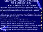 webster stratton staff training the incredible years