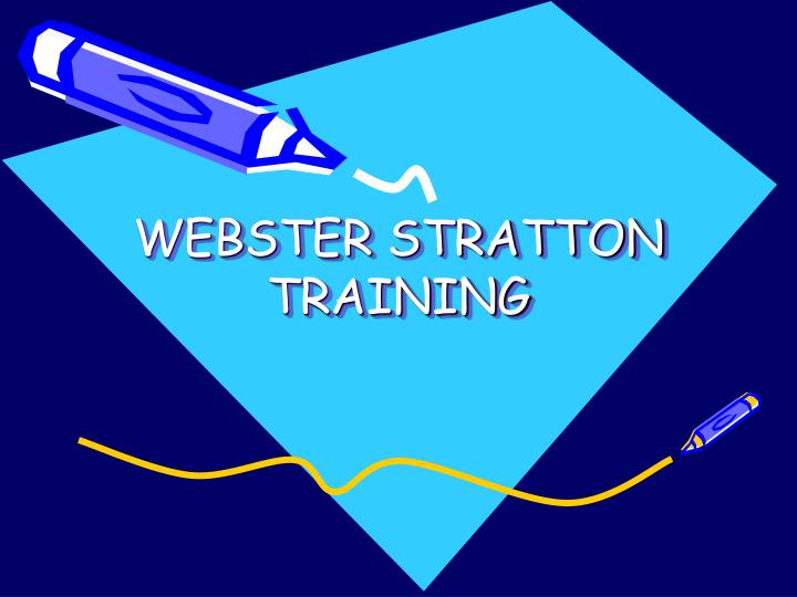 webster stratton training n.