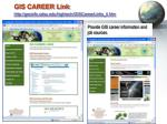 gis career link http geoinfo sdsu edu hightech giscareerlinks li htm
