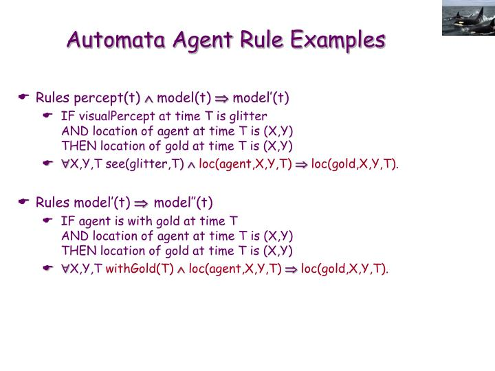 Automata Agent Rule Examples