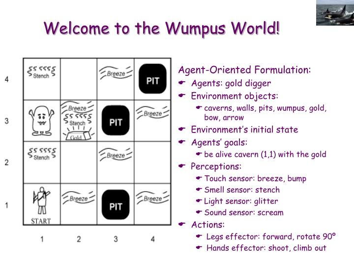 Welcome to the Wumpus World!