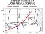 detonation parameters and phase diagram of nanocarbon v v danilenko fiz gor vzryva 2005 v 41 n 5