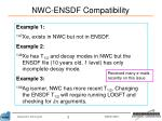 nwc ensdf compatibility1