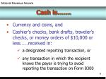 cash is