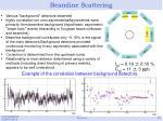 beamline scattering