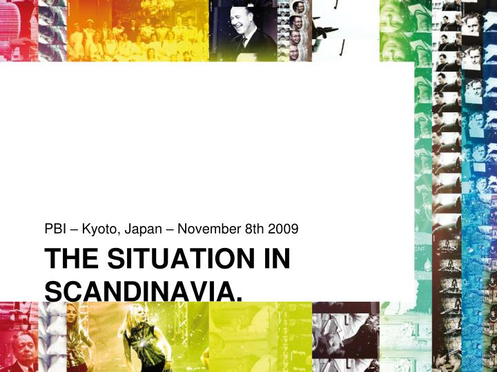 the situation in scandinavia n.