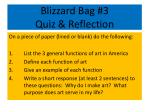 blizzard bag 3 quiz reflection