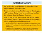 reflecting culture
