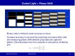 coded light phase shift