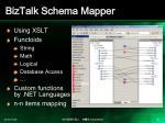 biztalk schema mapper
