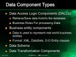 data component types