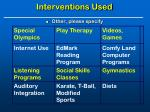 interventions used2