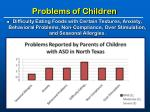 problems of children