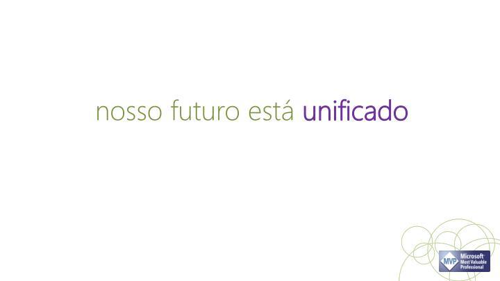 nosso futuro está