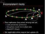 inconsistent roots2