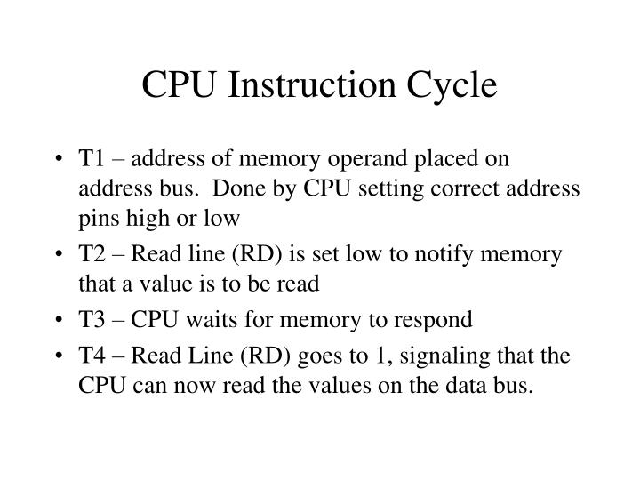 CPU Instruction Cycle