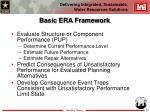 basic era framework