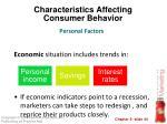 characteristics affecting consumer behavior22