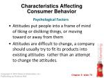 characteristics affecting consumer behavior40