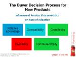 the buyer decision process for new products1