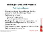 the buyer decision process12