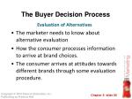 the buyer decision process7