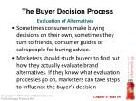 the buyer decision process8